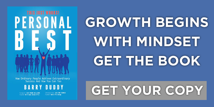 Personal Best Book | Barry Duddy